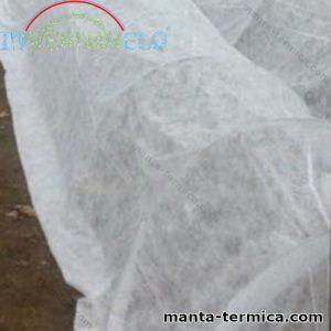 Micro túnel cubierta por manta térmica invernavelo